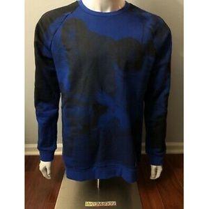Jordan Legacy Tinker Sweatshirt Fleece Blue Mens